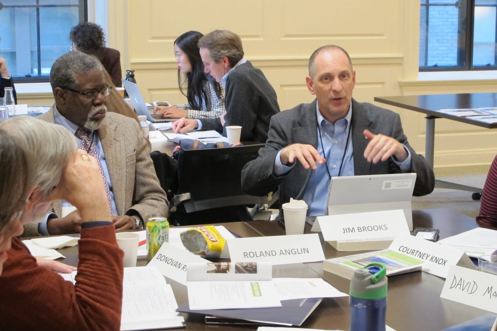 Focused workshop in Newark