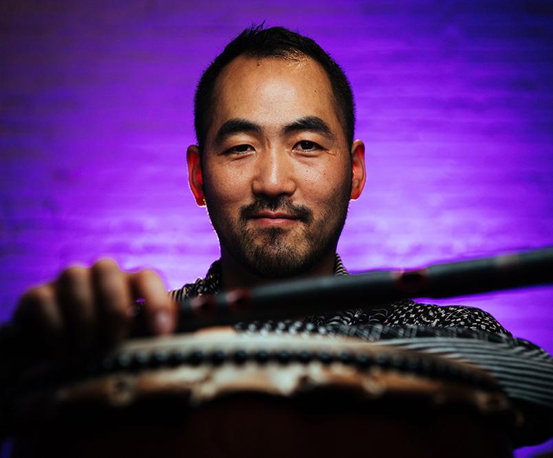 Kaoru Watanabe,  Musician - taiko drums & shinobue flutes