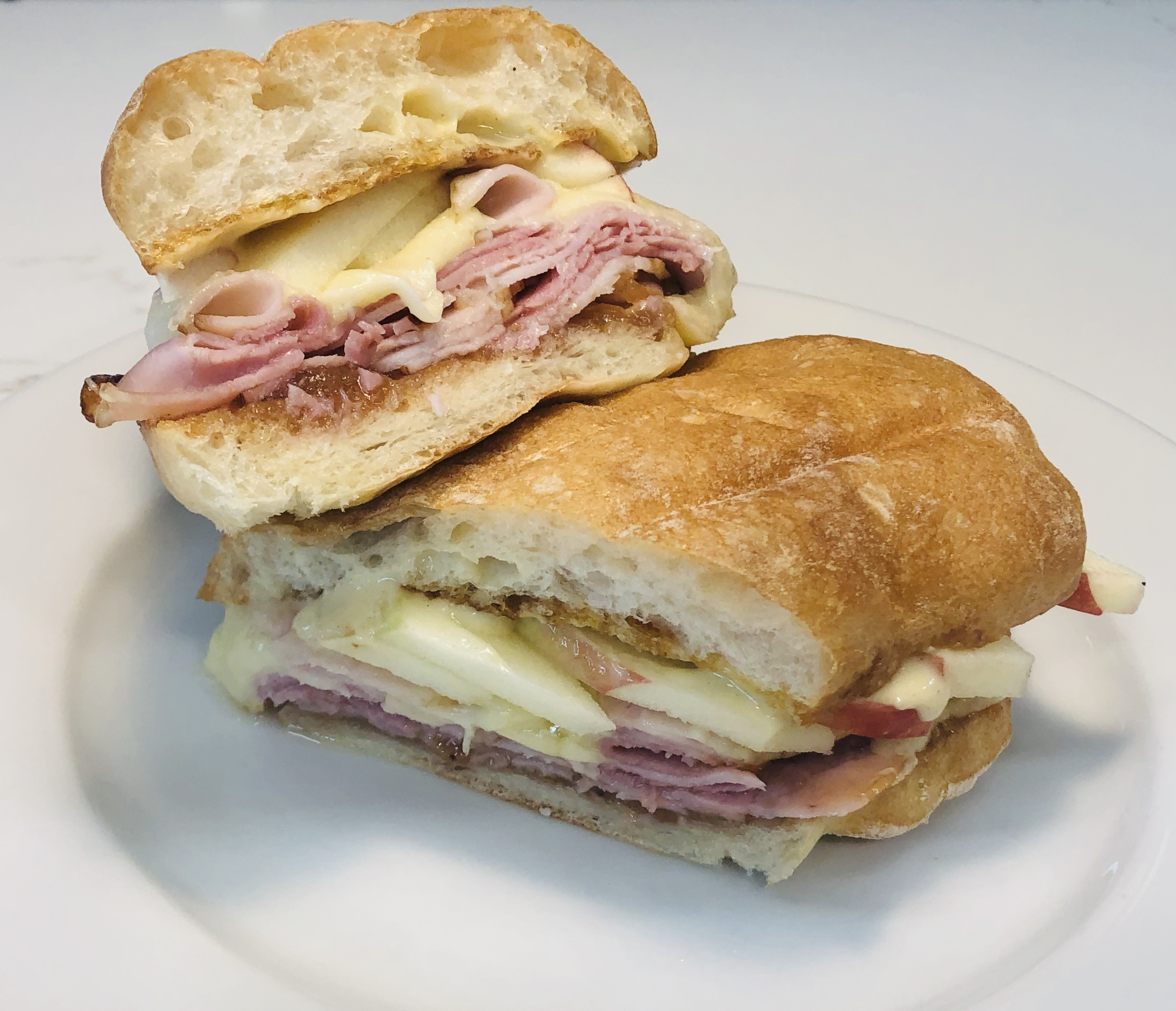 We offer a variety of breakfast and lunch sandwiches.