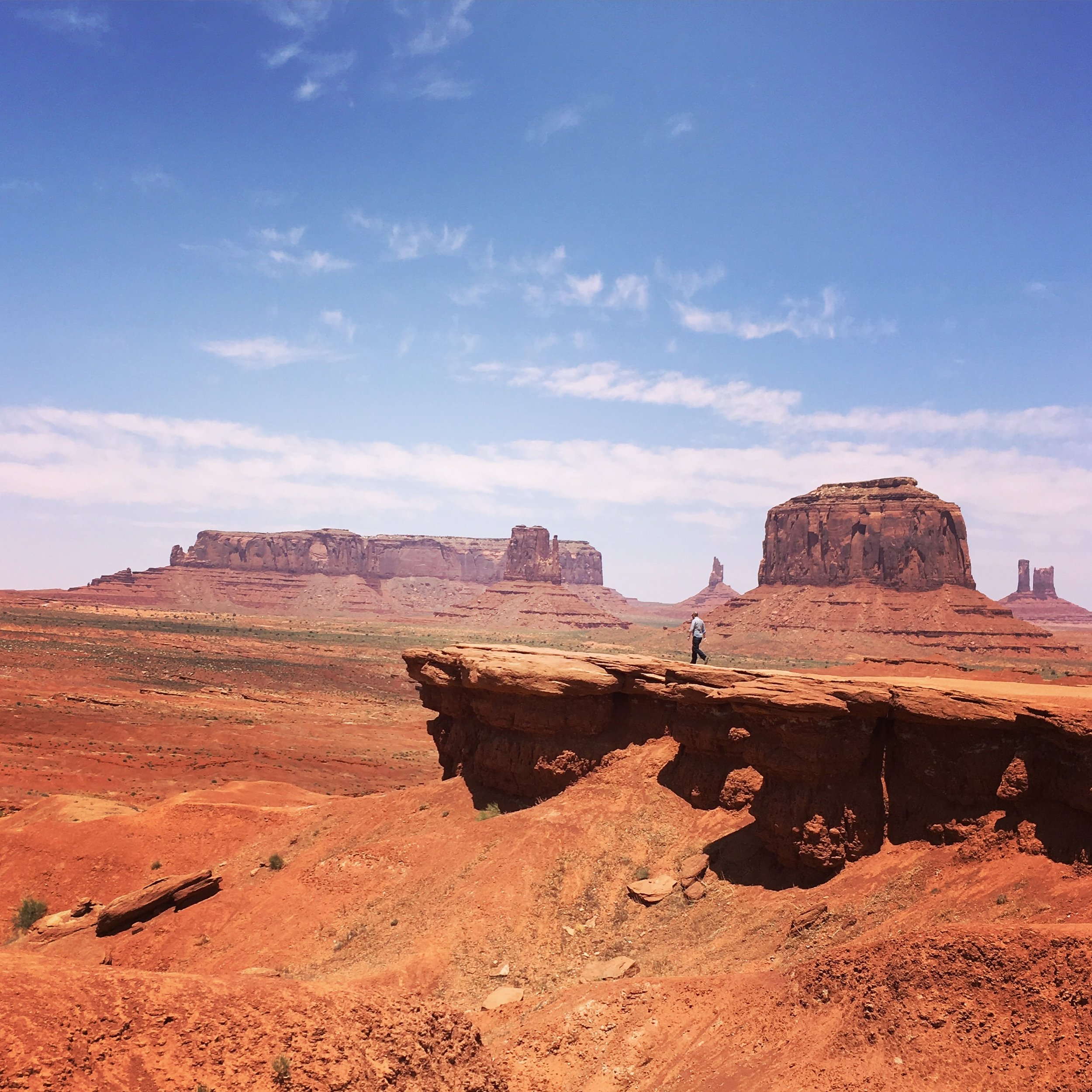 IG: Alexander was enamored because there is a martian quality to the landscape.