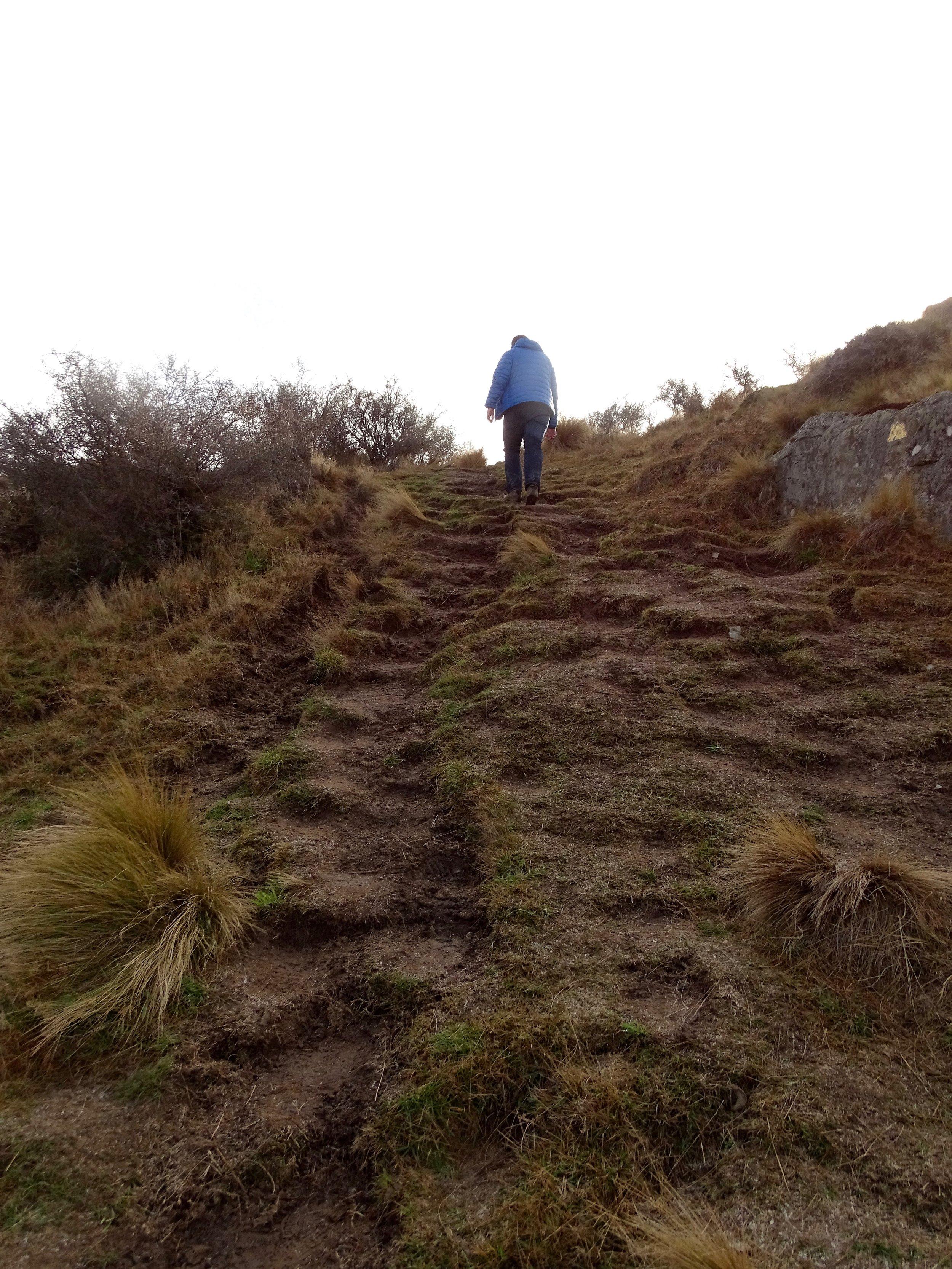 Very, very steep.