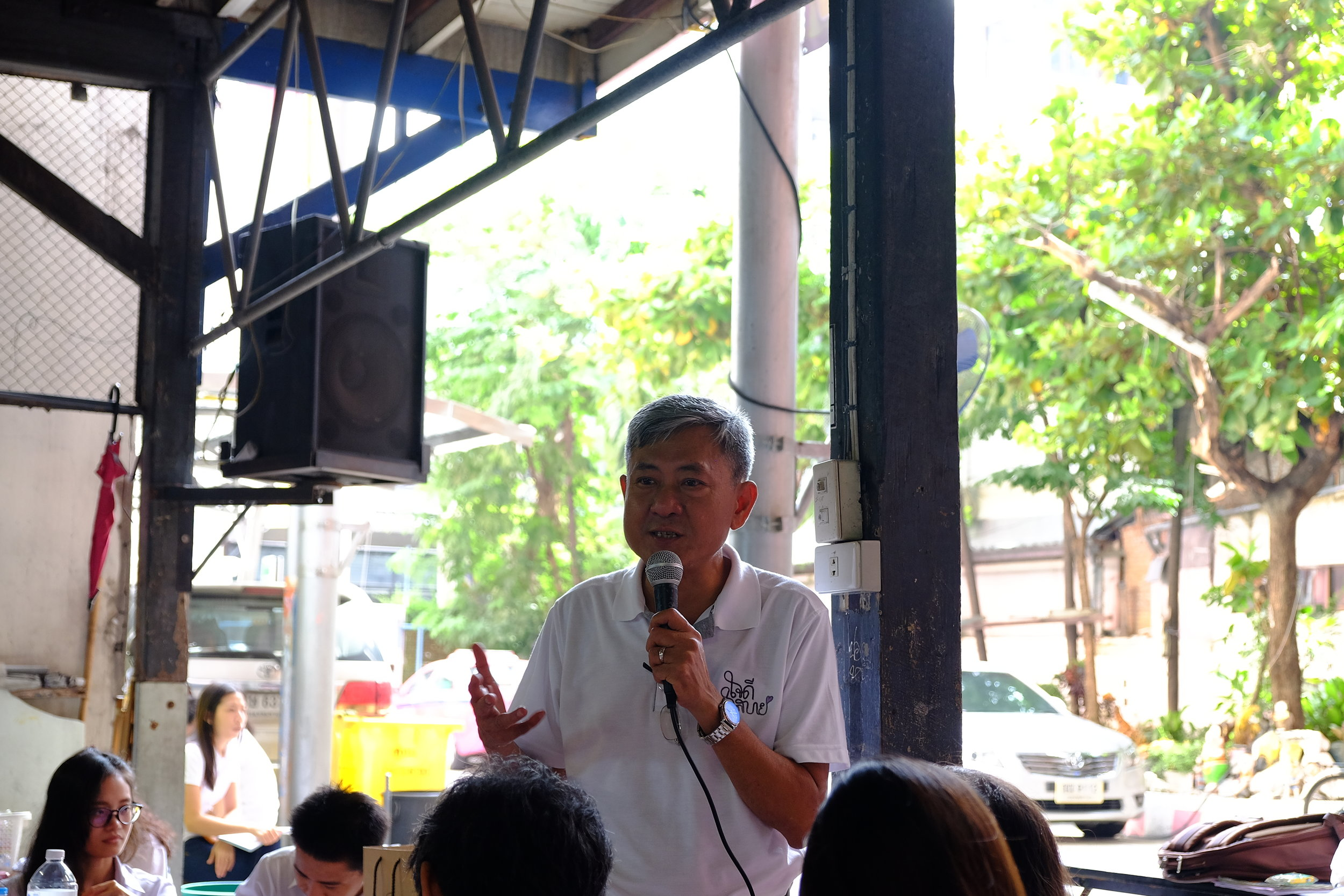 the Deputy Director, Mr.Myint Wai, gave introduction about DEAR Burma to MAIDS Students