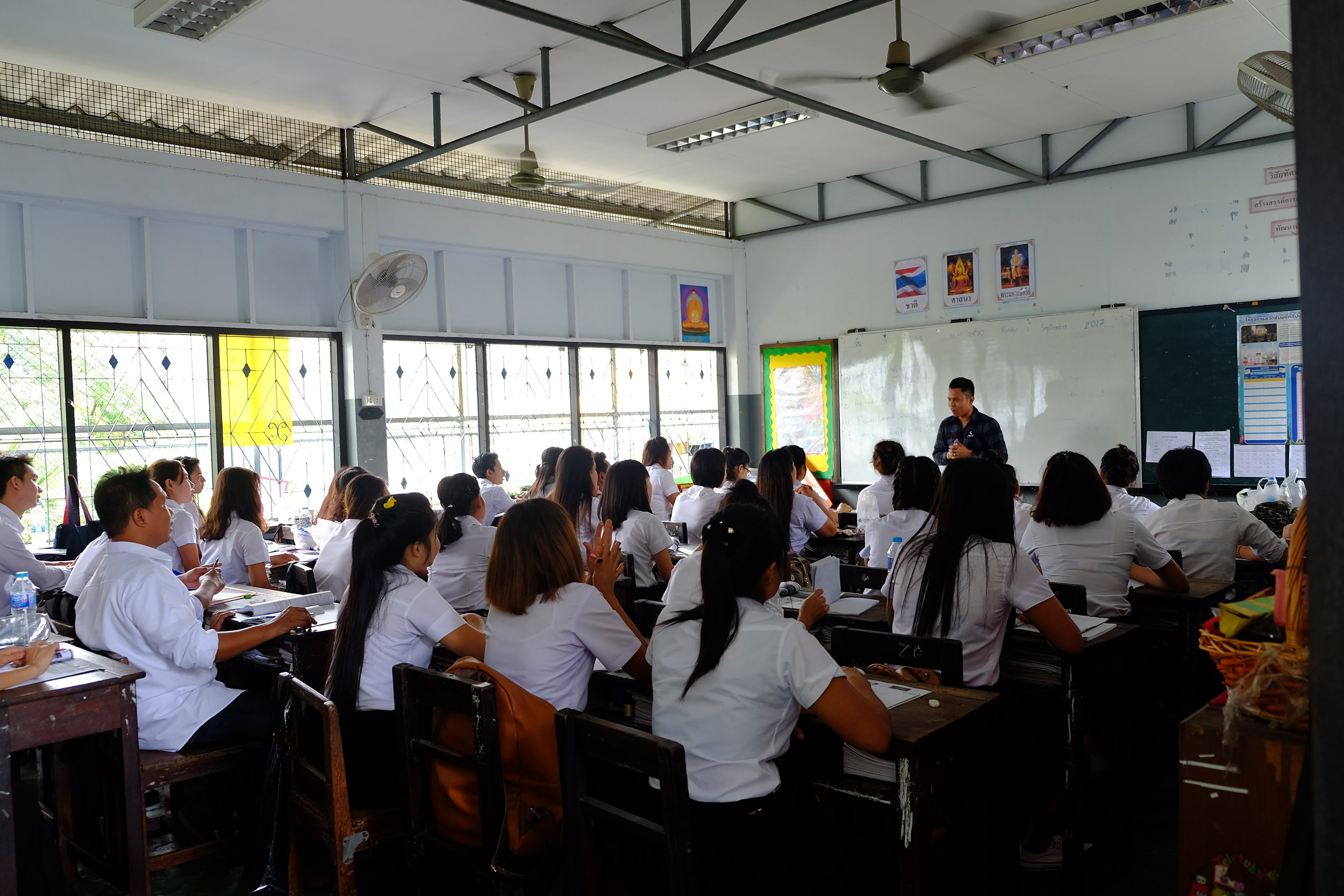 Thai Class at Dear Burma