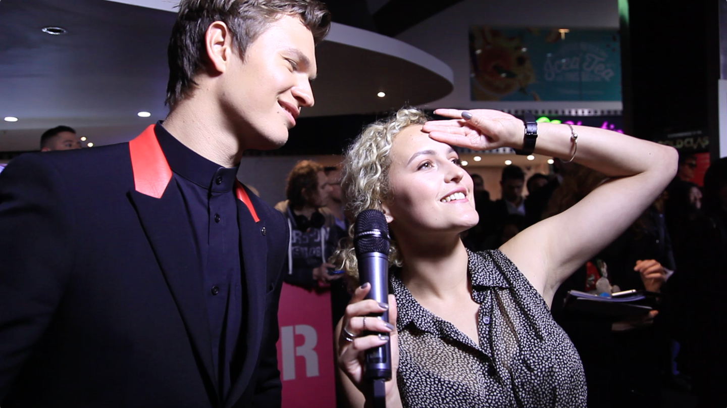 When Ansel breaks into song right in front of you #swoon