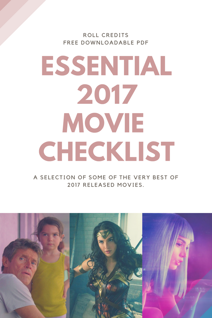roll credits movie checklist 2017