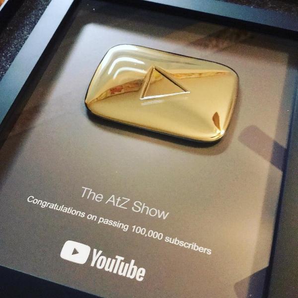 atz show youtube plaque