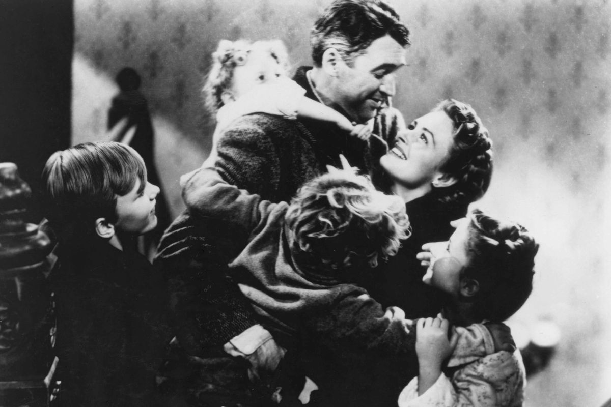 It's A Wonderful Life (1946) Photo by Herbert Dorfman - Image courtesy  gettyimages.com