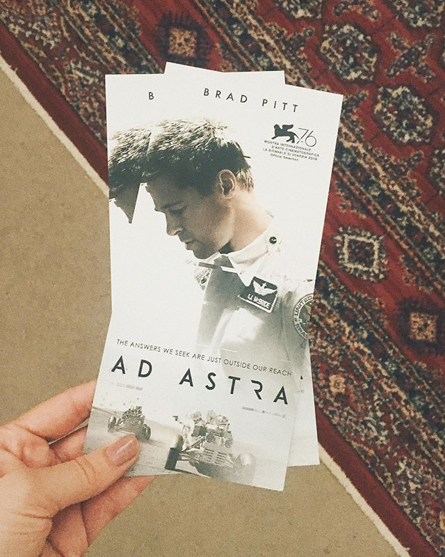 Brad Pitt in outer space 👏🏼 have I got your attention! I watched #AdAstra yesterday and I have to say it was unexpected as only director James Grey can do. I didn't love it's pace and too familiar story but Pitt is stellar and cinematography and score are 🚀🚀🚀 Will you be seeing this one when it comes out?