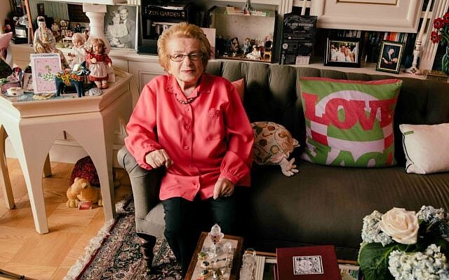 91 year old Dr. Ruth Westheimer - America's favourite sex therapist