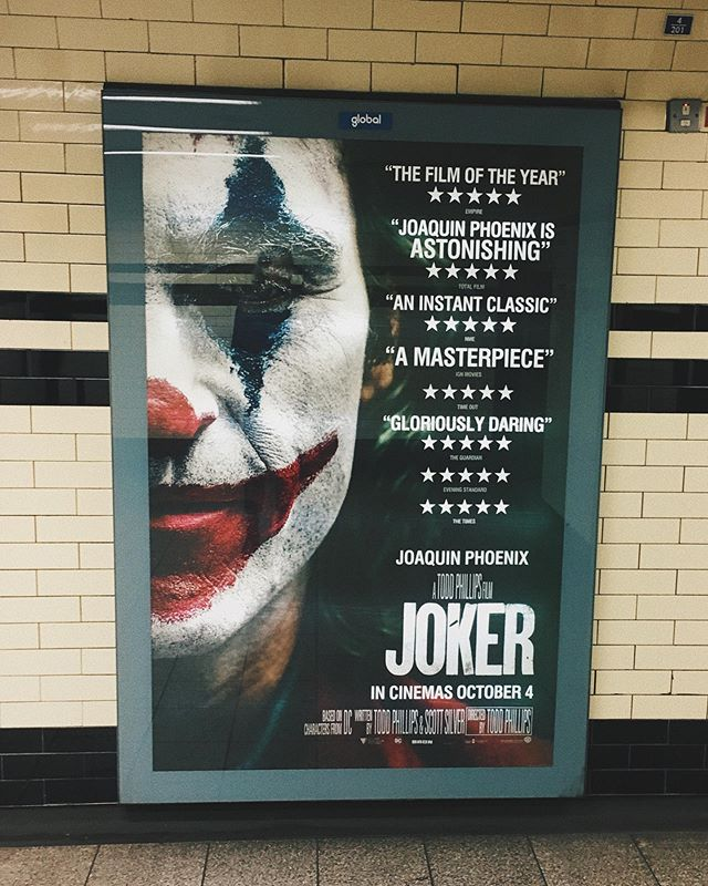 Still thinking about Joker and what an intense and gut wrenching film it was. Have you seen my first impressions of it yet? Go to my channel and watch my vlog going to the cinema to watch #jokermovie with @pop.culture.vulture