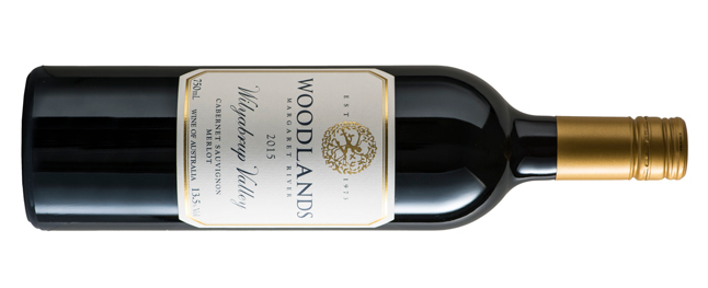 2015 Woodlands 'Wilyabrup Valley' Cabernet Sauvignon Merlot, Margaret River