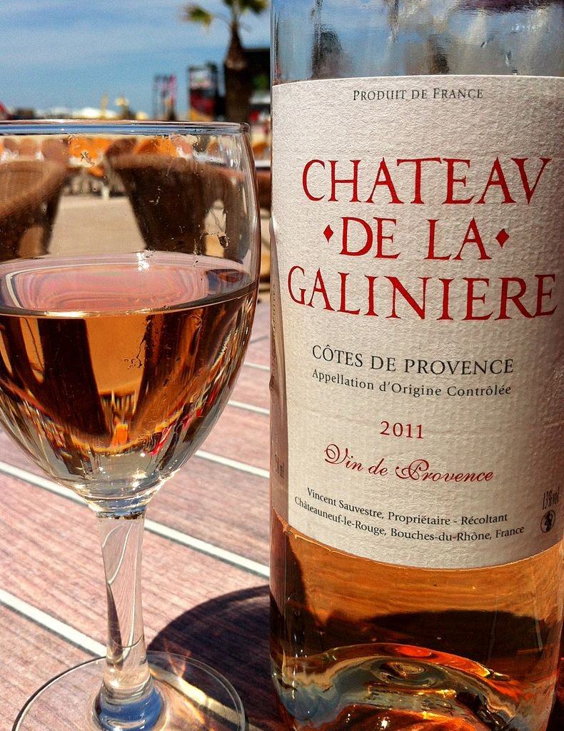 Photo: A typical lighter style of Provençal  rosé