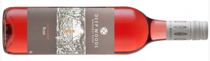 """2016 Deep Woods - Harmony   Rosé   """"An unashamedly dry style with vibrant balanced acidity. Light- to medium-bodied displaying raspberry and strawberry fruit flavours with a satisfying persistent finish"""""""