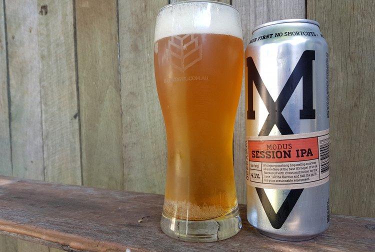 Beer: Modus Operandi Session IPA Source: BeerCrawl.