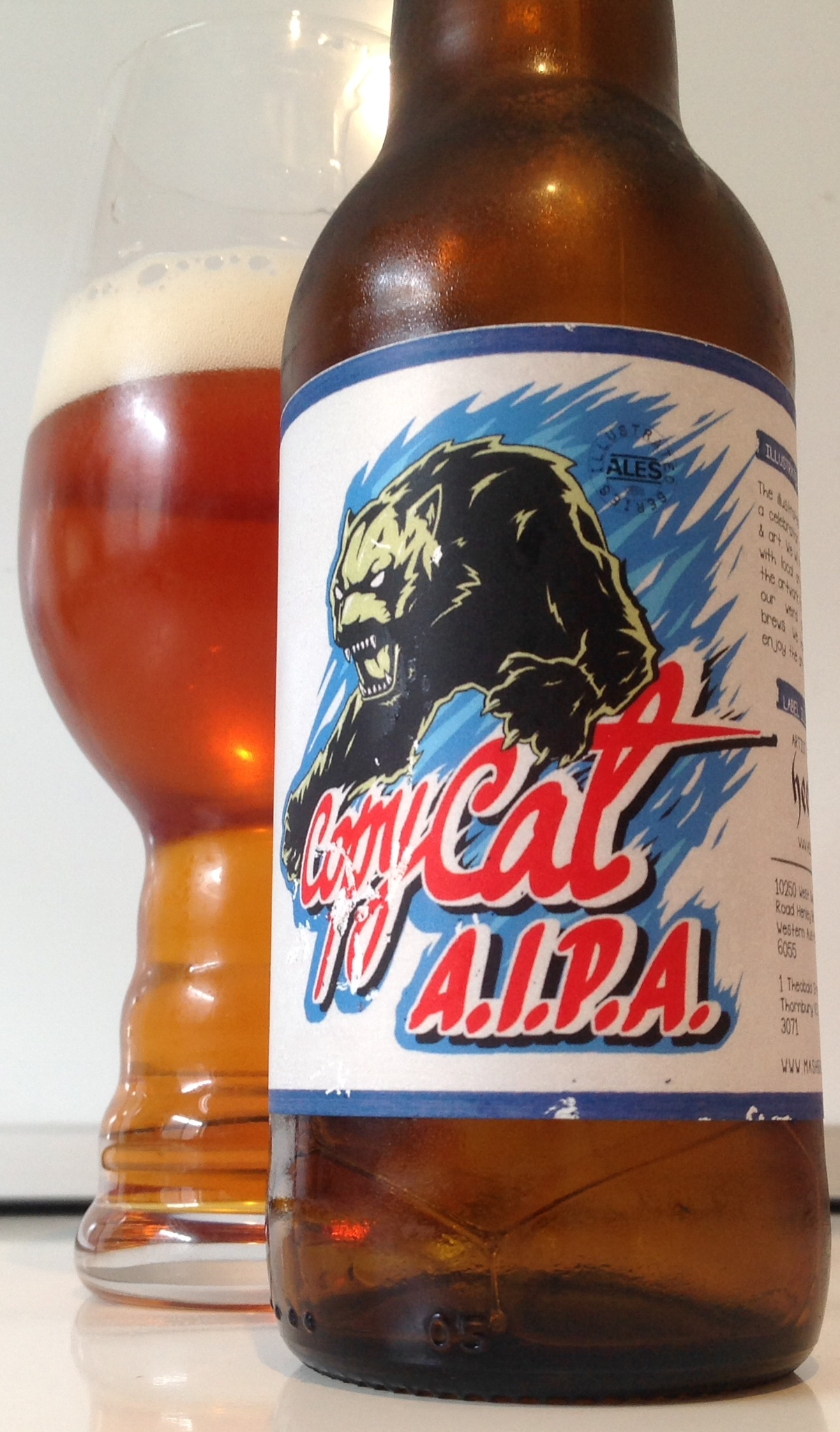 Mash Brewing's Copy Cat AIPA
