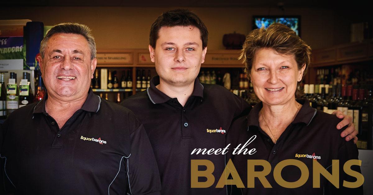 Chris, Adam and Karen Dzodzos