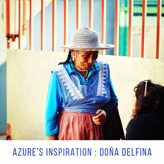 Once upon a time... Doña Delfina took me, as a young, naive researcher, into her home. She bossed me around, interjected in Nahuatl, took care of me, nursed me when I was sick, fed me, showed me how to cook and eat and wash my clothes by hand. 3 of her 6 children moved to the USA over 3 decades ago. She was only able to see them again last year.  She is the reason I started Azure and stays my inspiration year after year. She represents everything I love of Mexico : warmth, strength, beauty and generosity.  #continuethelegacy @bluepinole #bluecorn #ancientfood #runners #tarahumara #running #superfood #food #farmers #farming #harvest  #Mexico