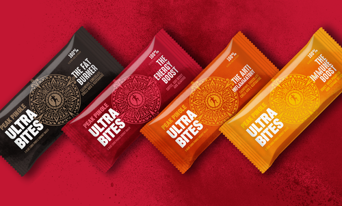 Peak Pinole Ultra Bites - Premium sports nutrition from heritage grain blue corn pinole available in Classic and Functional flavours to help better fuel endurance performance and give you the perfect energy boost. Vegan friendly.