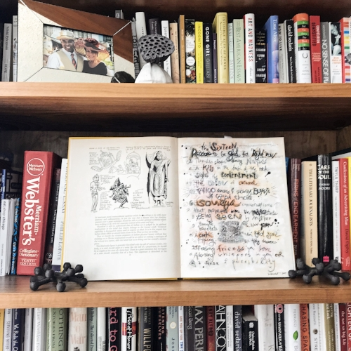 """A few weeks ago I ran across this list of mine -- """"The Sixteen Reasons to be Glad for Right Now"""" -- I'd made in an old book a few years back, and I decided to put it out where it could be seen."""