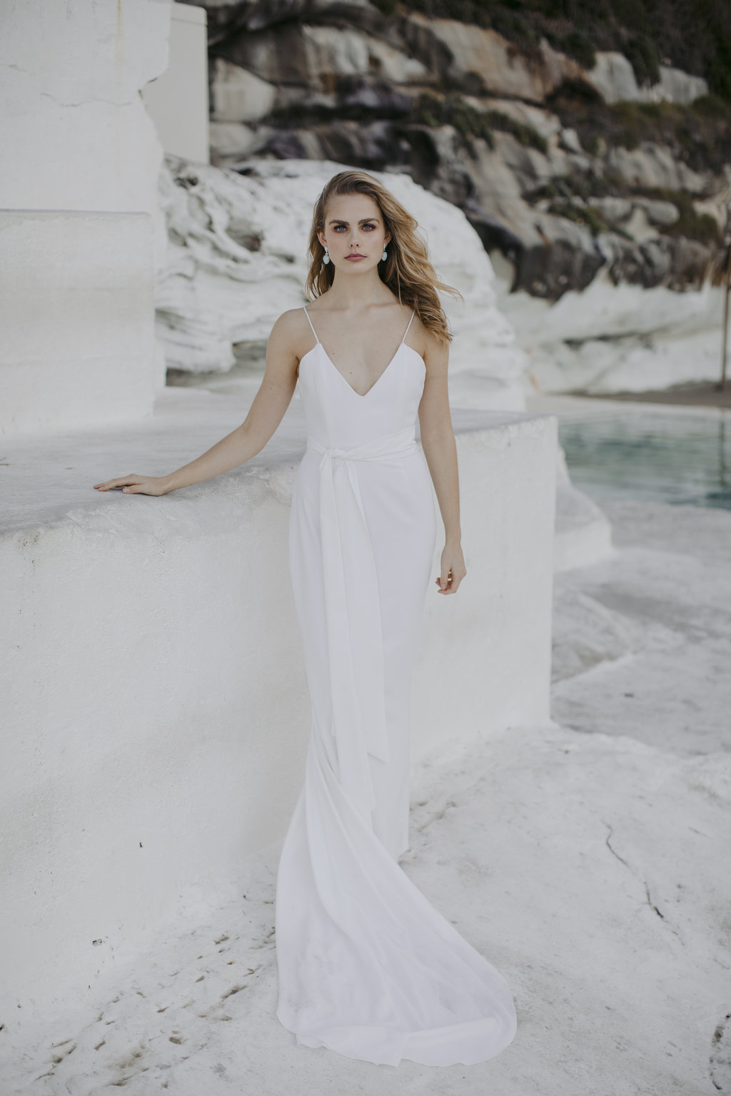 Astrid wedding dress by Jackson and Grace with creative direction by LOVE FIND CO. Creative Studio