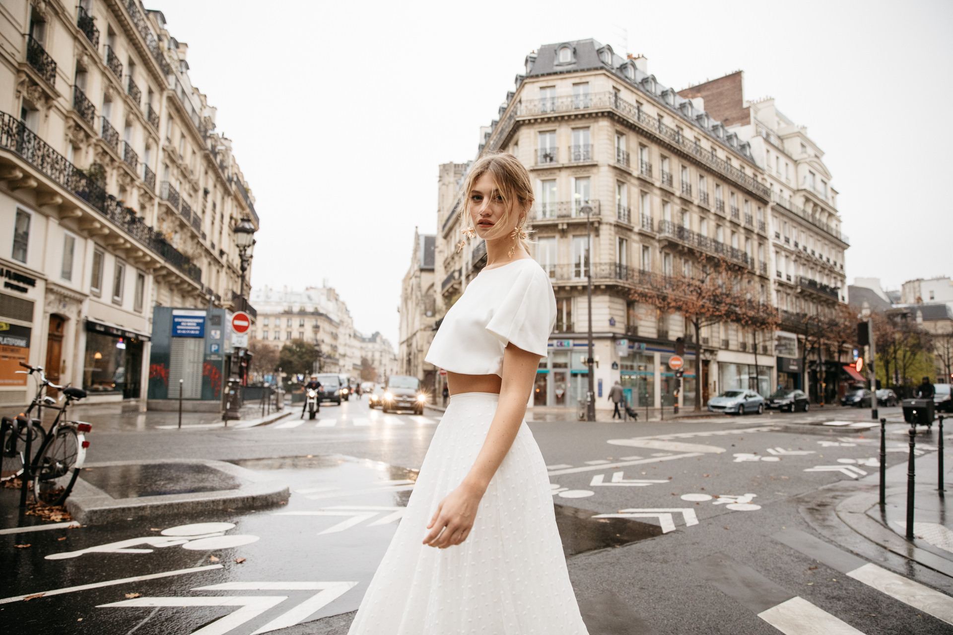 Daisy by Katie Yeung Parisian editorial with campaign creation by Engaged Creative