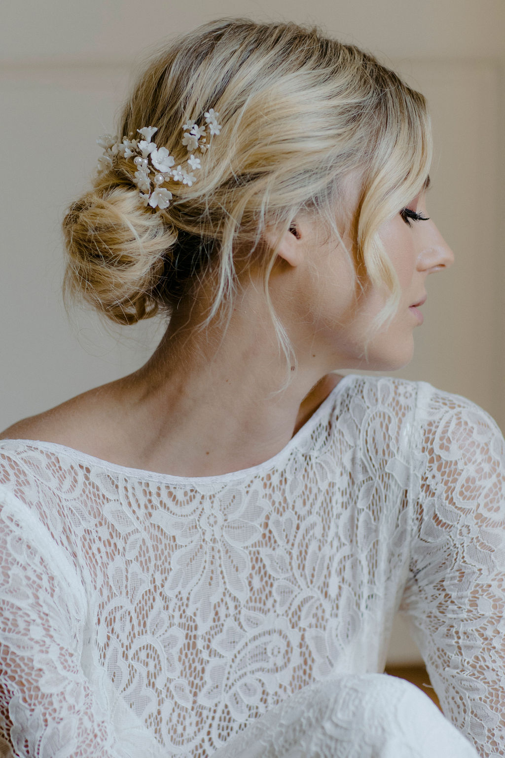 CHERRY BLOSSOM | WEDDING HAIR PIECES by TANIA MARAS