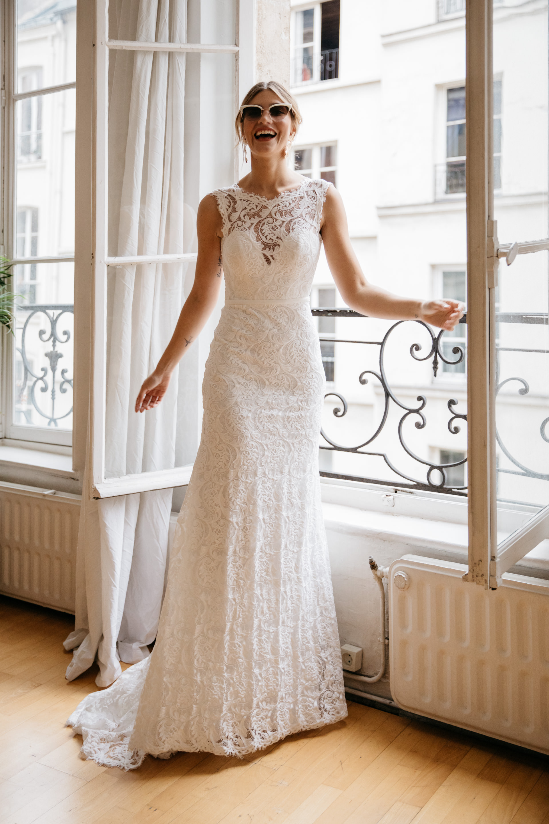 DAISY Brides Parisian Editorial with creative direction by ENGAGED CREATIVE