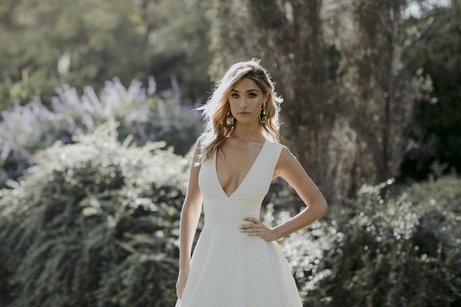 Colter Wedding Dress by Kate McDonald with Creative Direction by Engaged Creative
