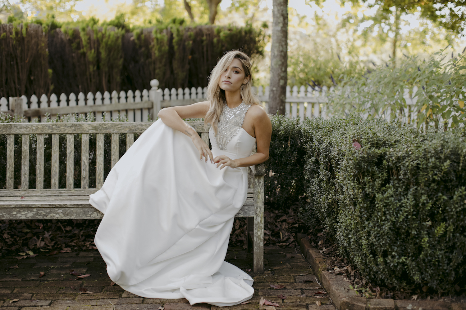 Wedding Dress by Kate McDonald with Creative Direction by Engaged Creative