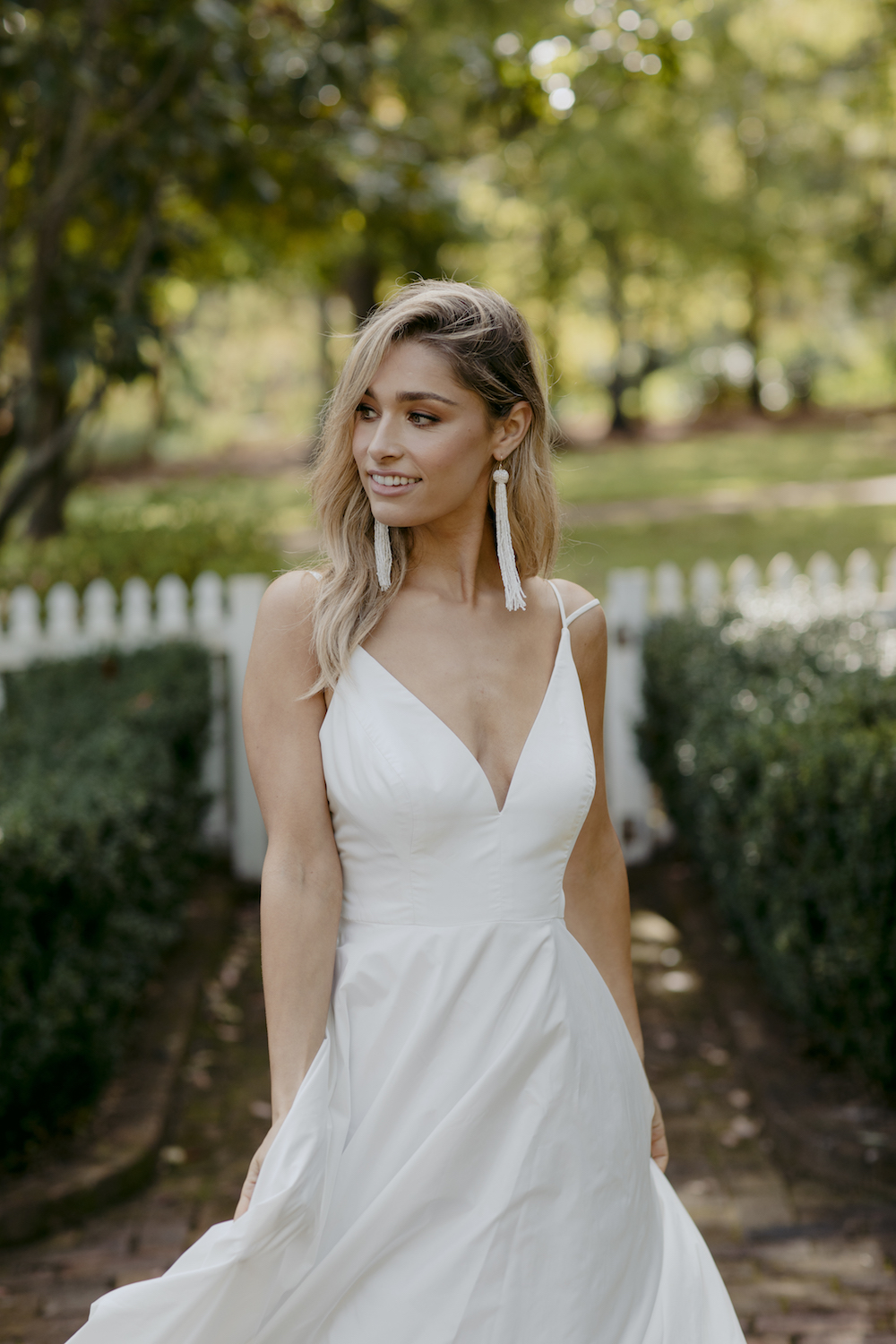 Duniway Wedding Dress by Kate McDonald with Creative Direction by Engaged Creative