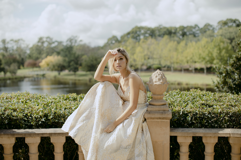 Ophelia Wedding Dress by Kate McDonald with Creative Direction by Engaged Creative