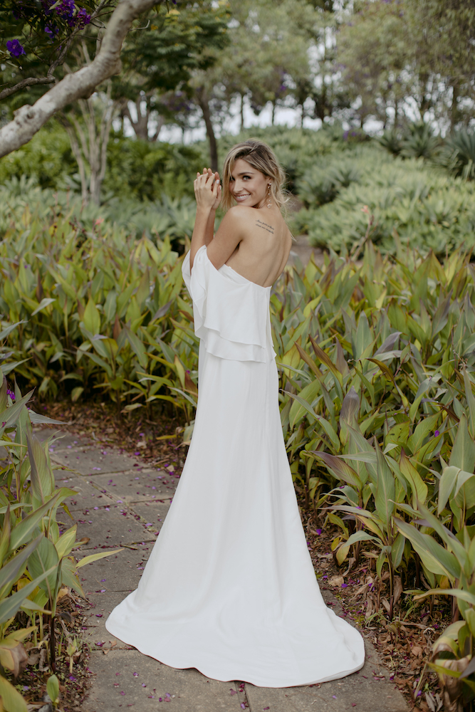 Cassidy Wedding Dress by Kate McDonald with Creative Direction by Engaged Creative