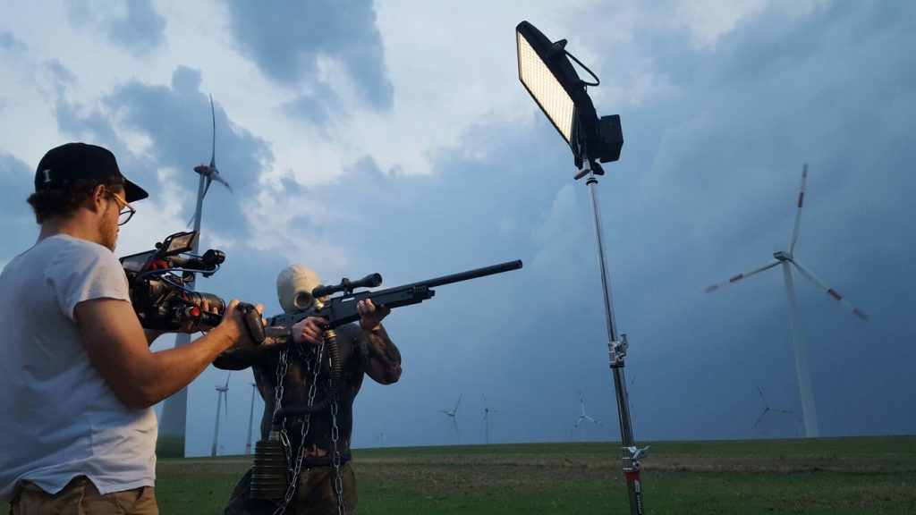 The Litepanel Astra 1×1 at work