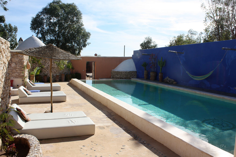 Maroc Essaouira Baoussala Valises En Famille