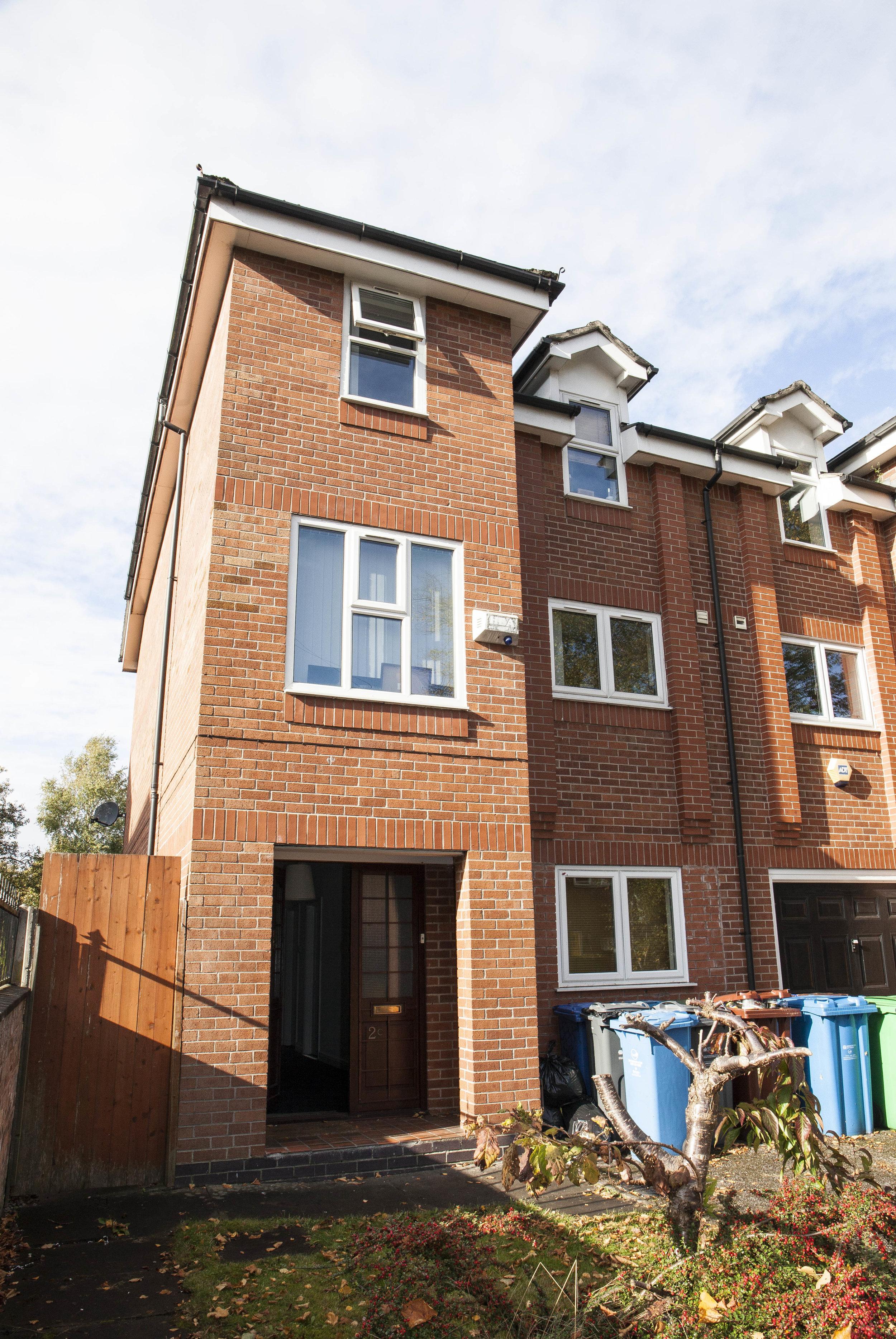 HOUSE C  Alan Road, Withington SORRY, ALREADY LET