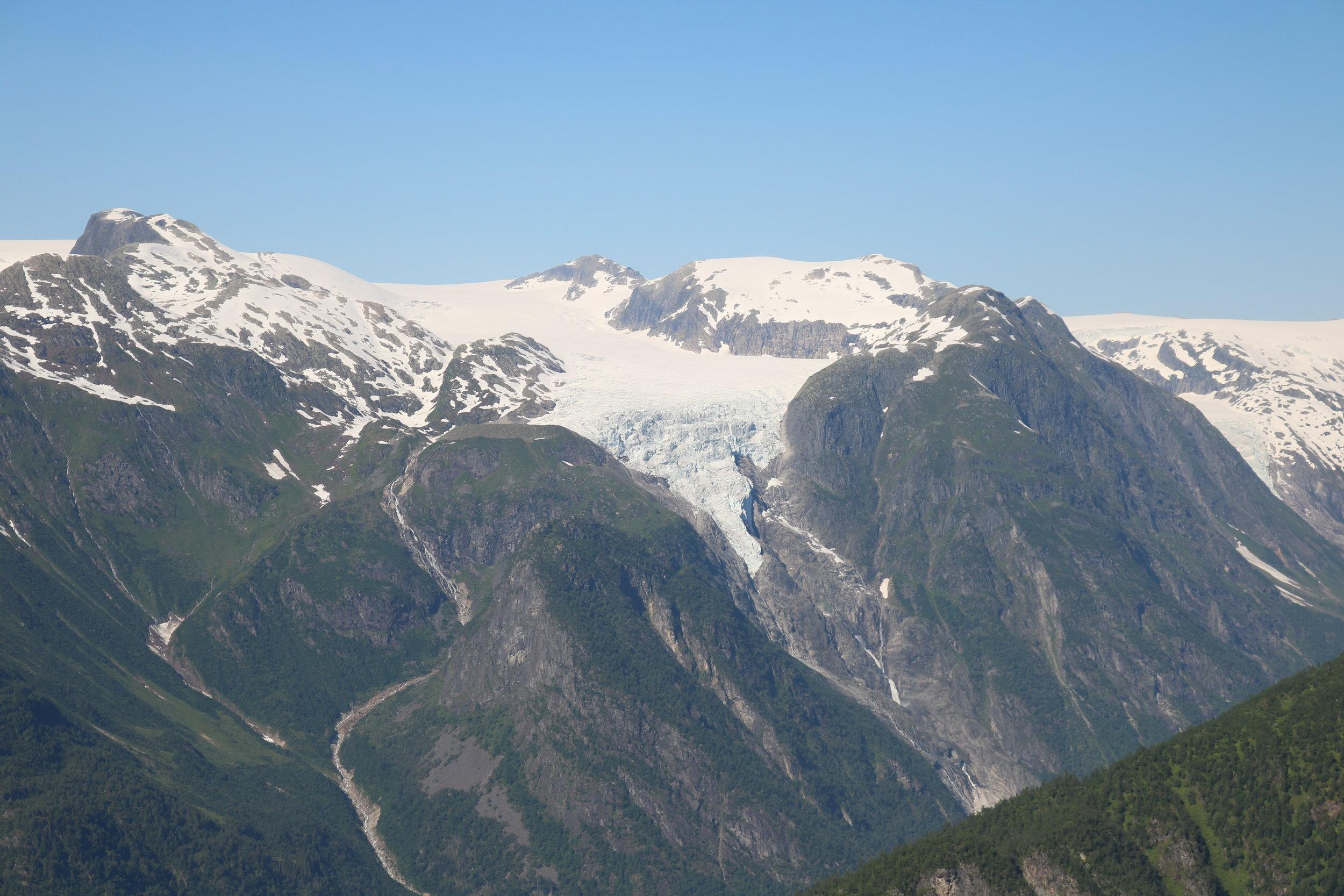 The Store Supphellebreen Glacier