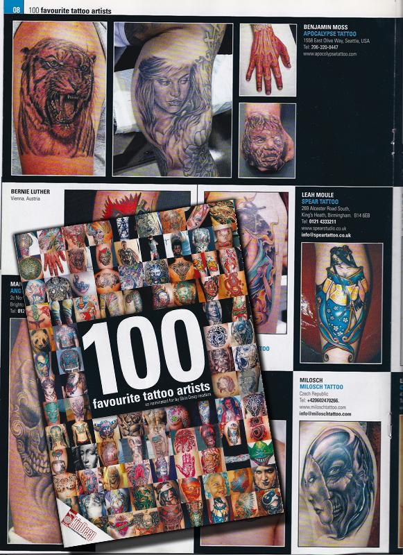 Skin Deep Magazine, U.K.