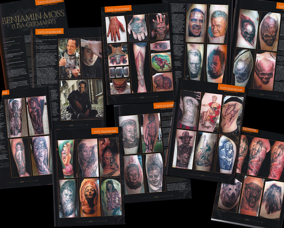 Tattoo Master Professional Magazine, Russia