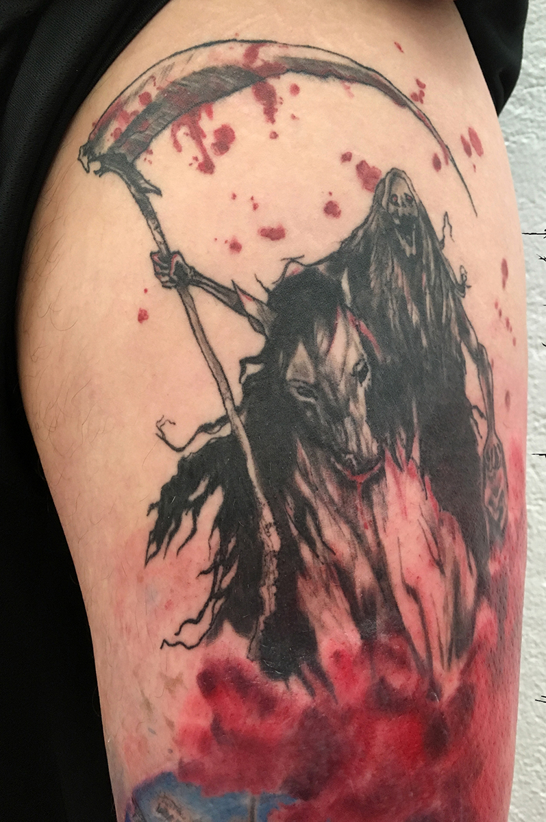 reaper on horse color tattoo truevagabondtattoo berlin.jpg