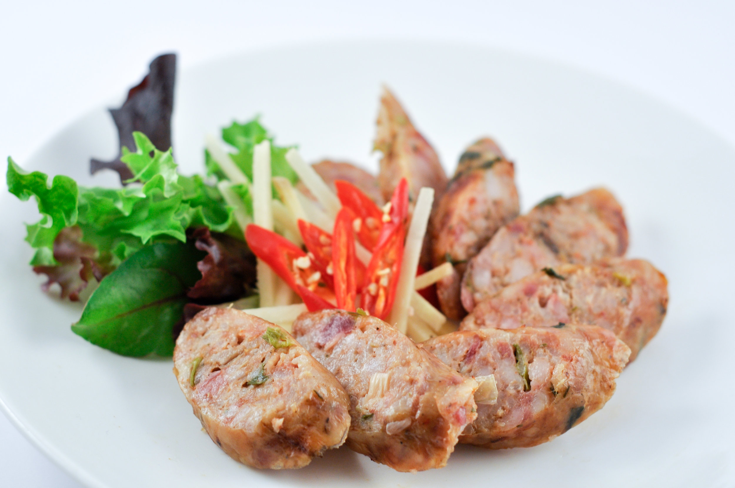 Sai Uoa - Lao Pork Sausage