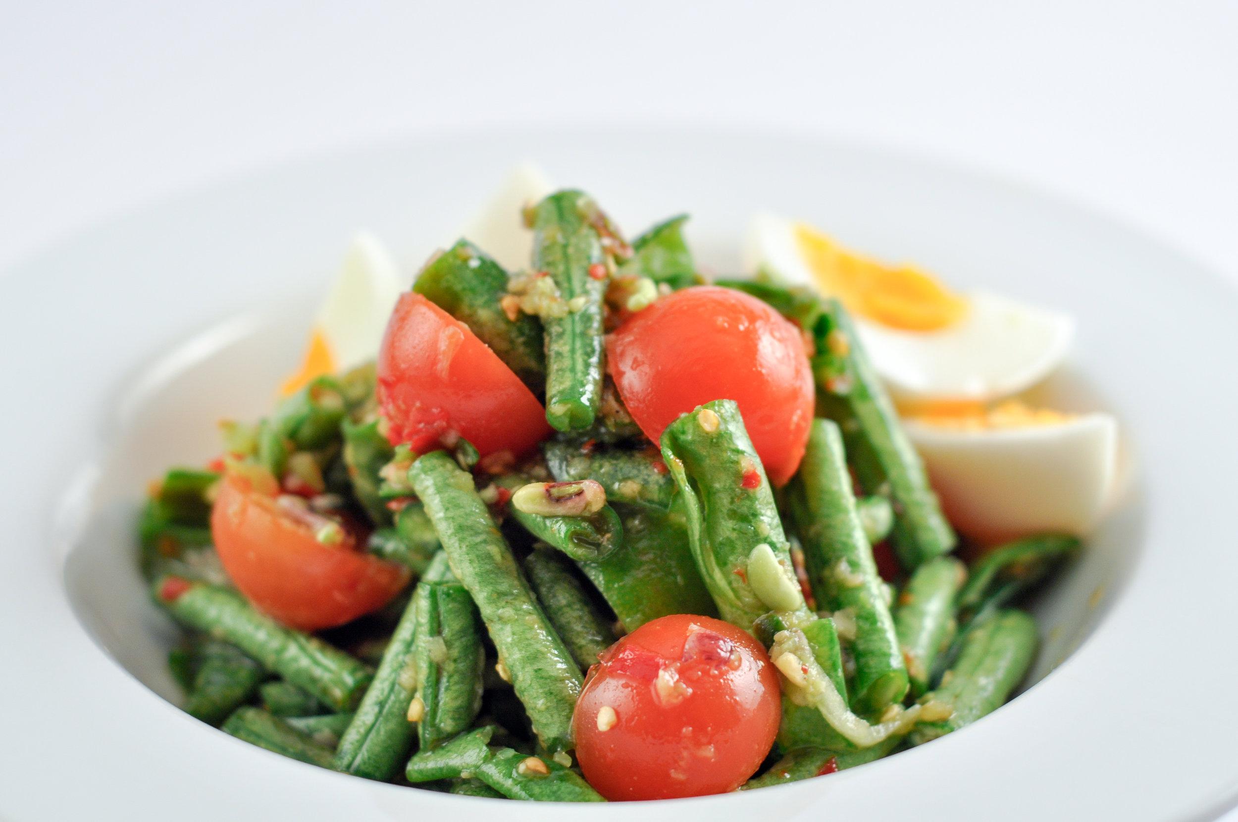 Tum Mark Tua - Snake Bean Salad