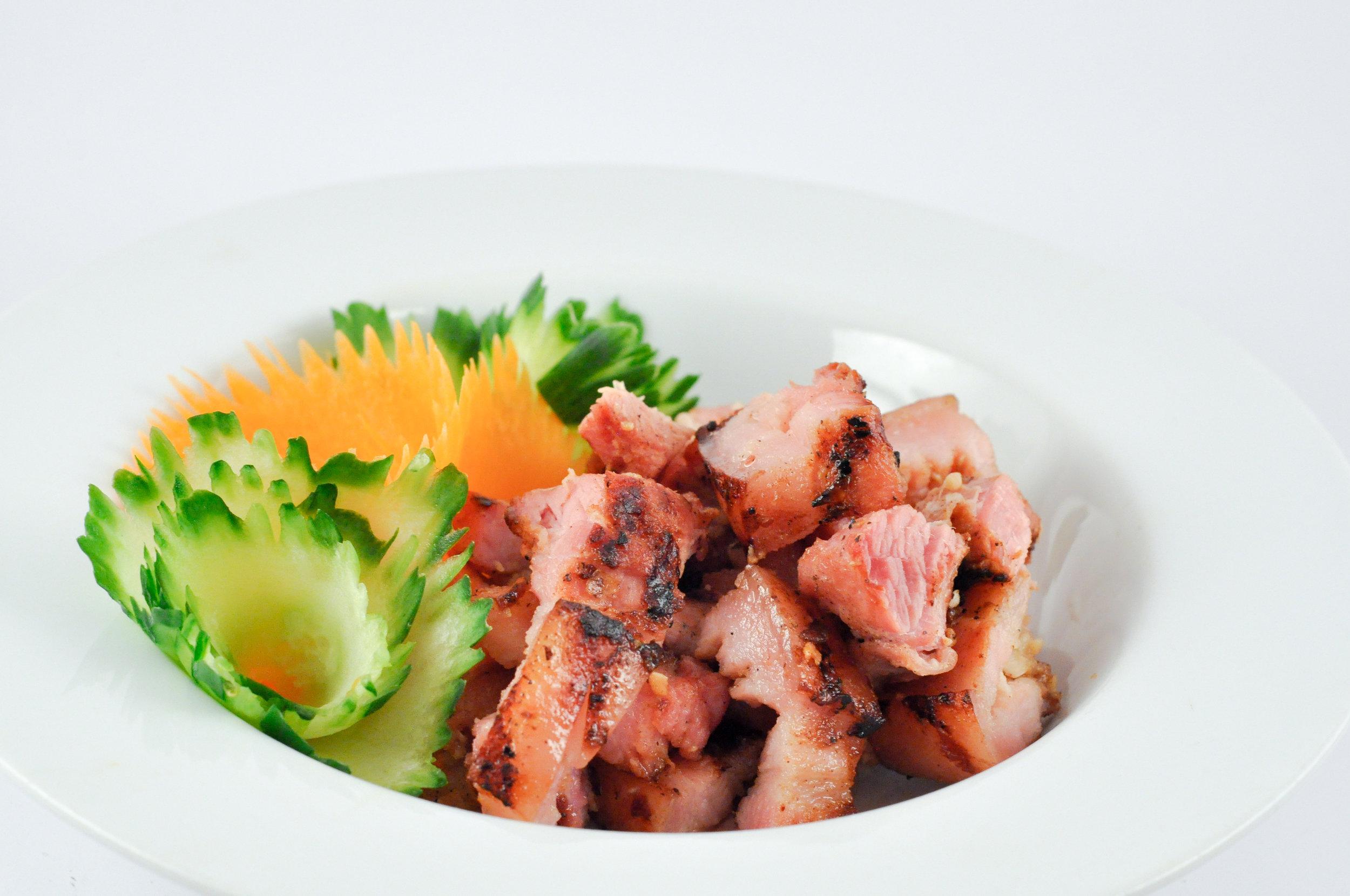 Grilled Sour Pork Belly