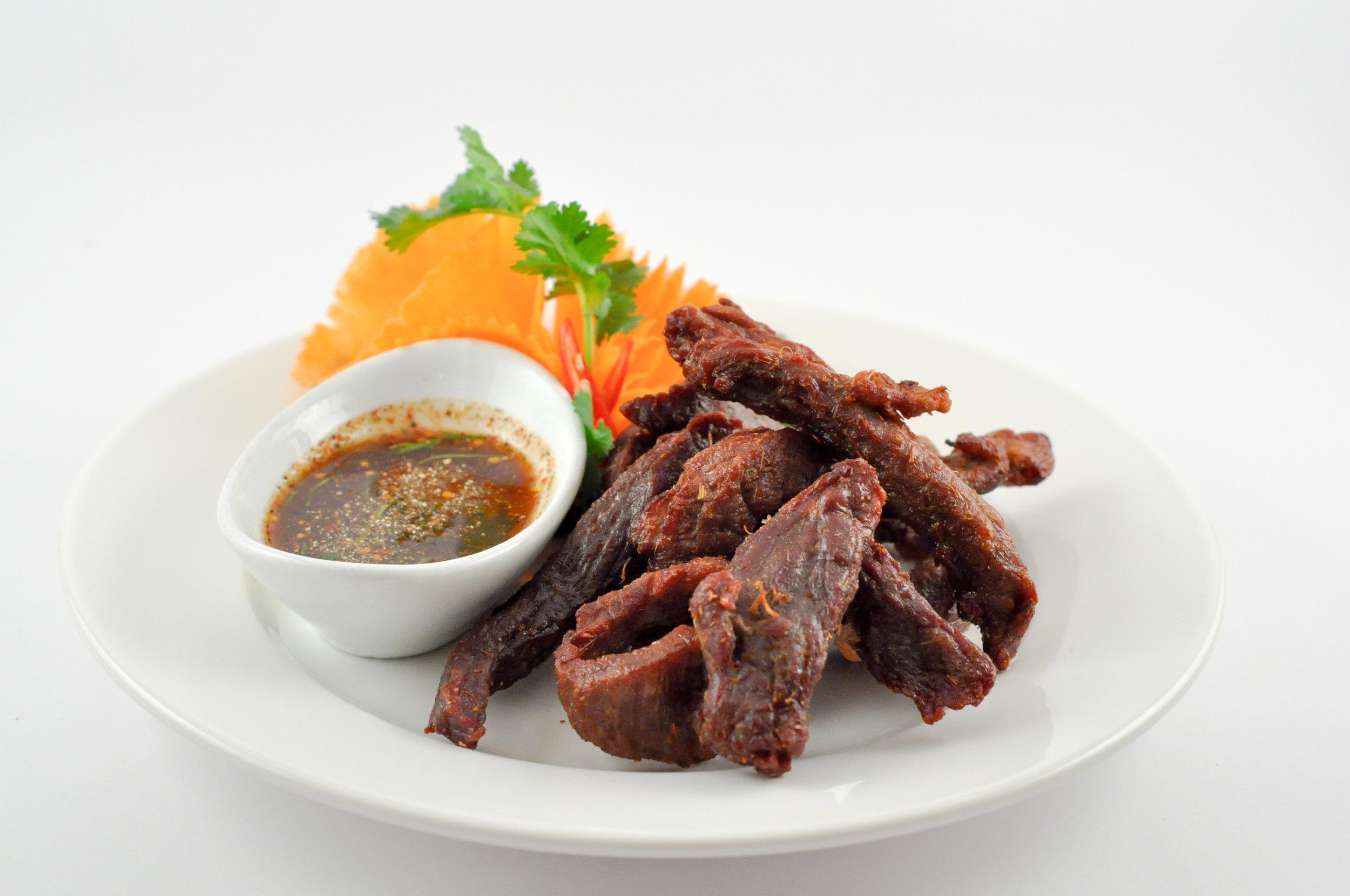 Zeen Dad Deaw - Sun-dried Beef