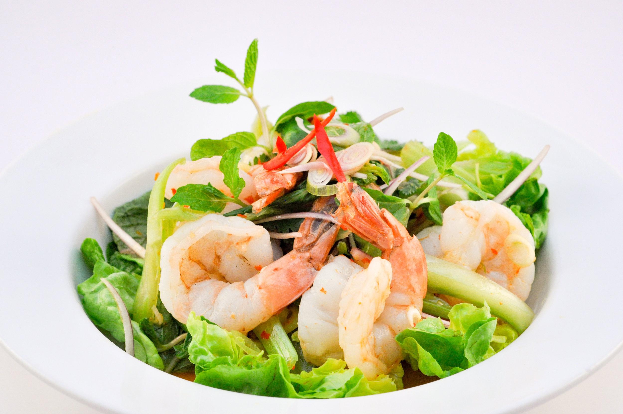 Plar Goong - Prawn Salad