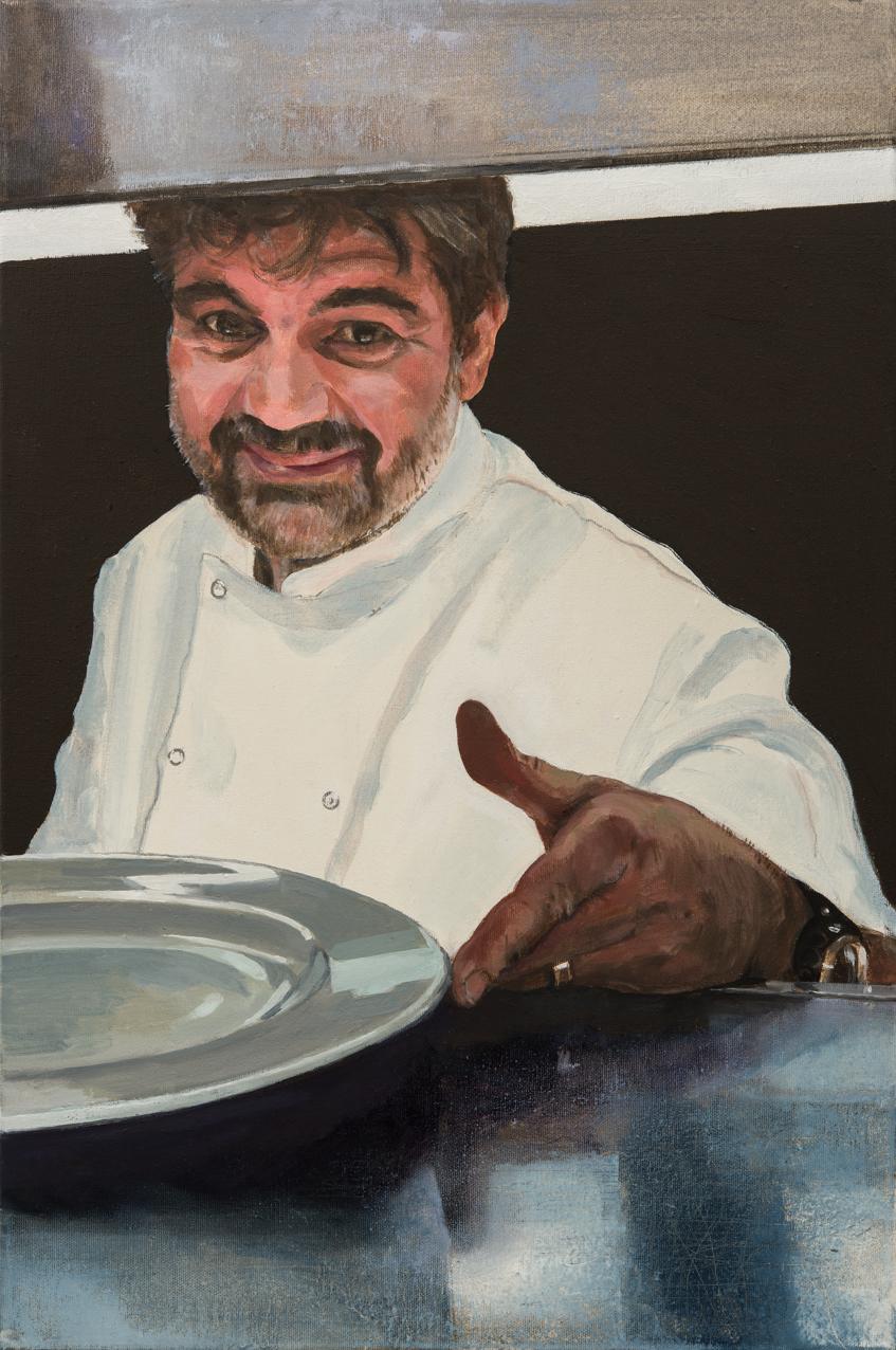 Laurent Couvreur,  oil on canvas