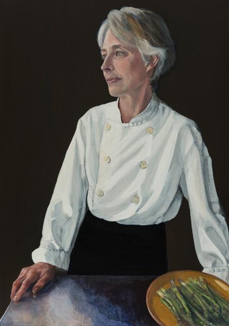 Rachel Demuth,  oil on canvas