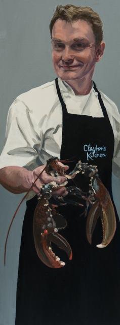 Rob Clayton,  oil on canvas