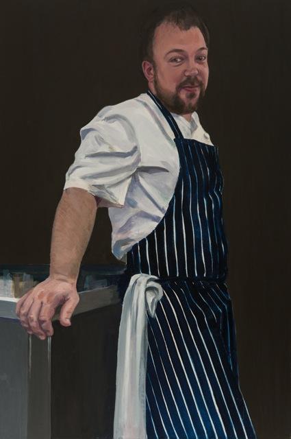 Sam Moody,  oil on canvas