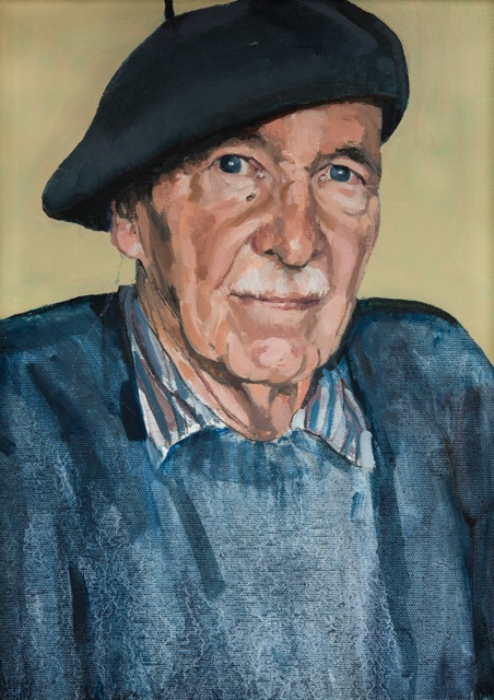 Man in a beret