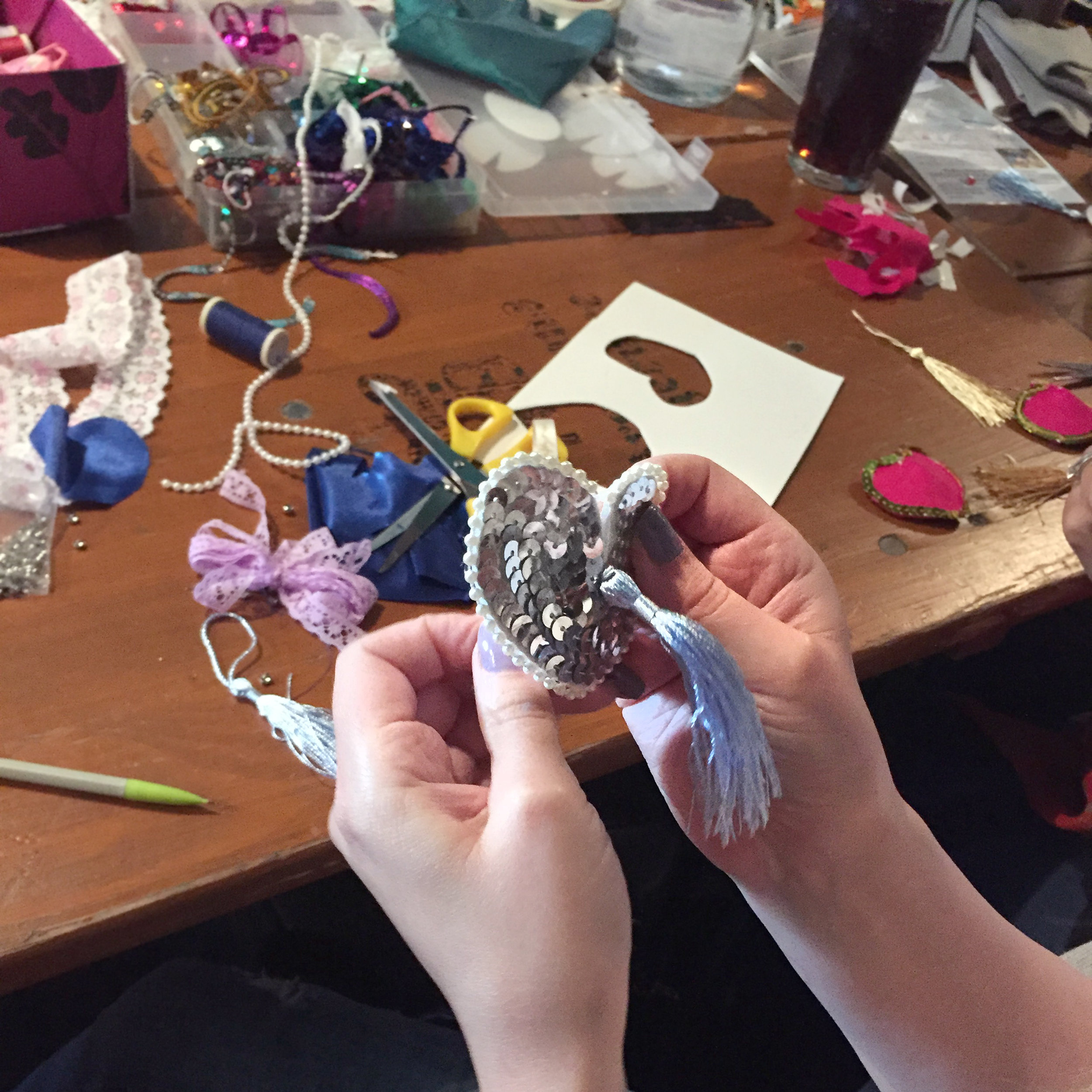 Nipple Tassel Making Hen Party Manchester The Crafty Hen